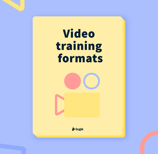 Video formats for training